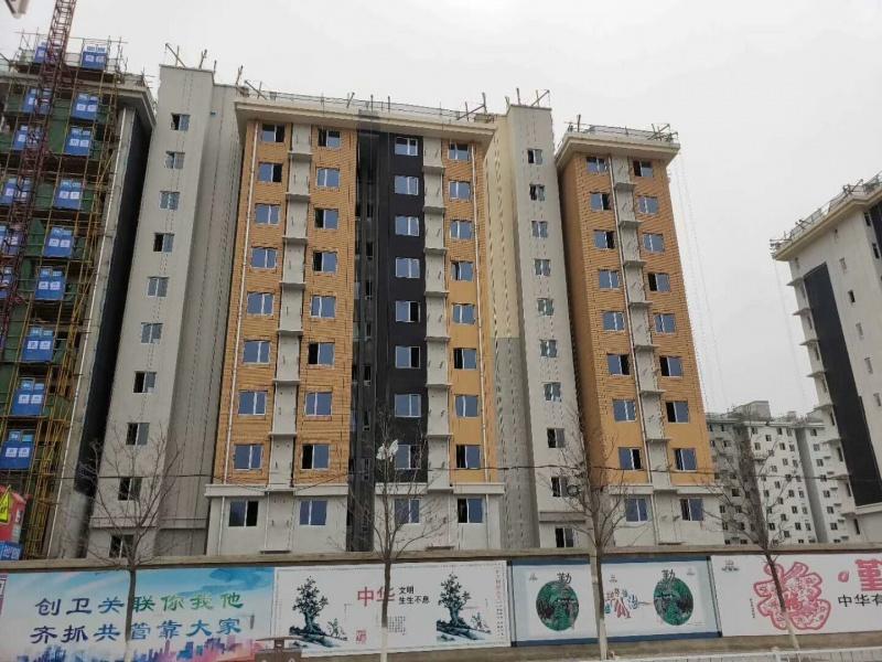 中国建筑延庆棚户区项目外墙质感漆案例